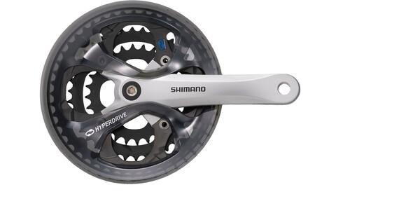 Shimano FC-M361 Kurbelgarnitur 42/32/22 Kettenschutzring silber/schwarz
